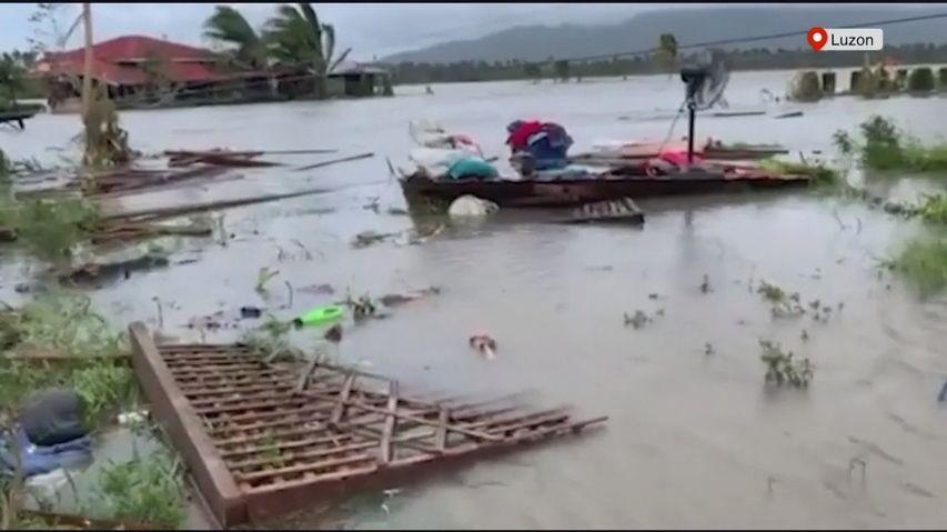 Video: Filipíny zasáhl tajfun. Vietnam chystá evakuaci milionu obyvatel