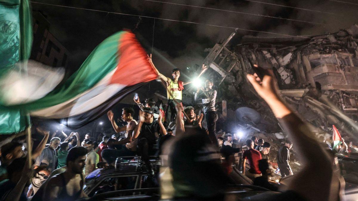 Příměří mezi Izraelem a Hamásem zatím drží. Hizballáh gratuluje Palestincům
