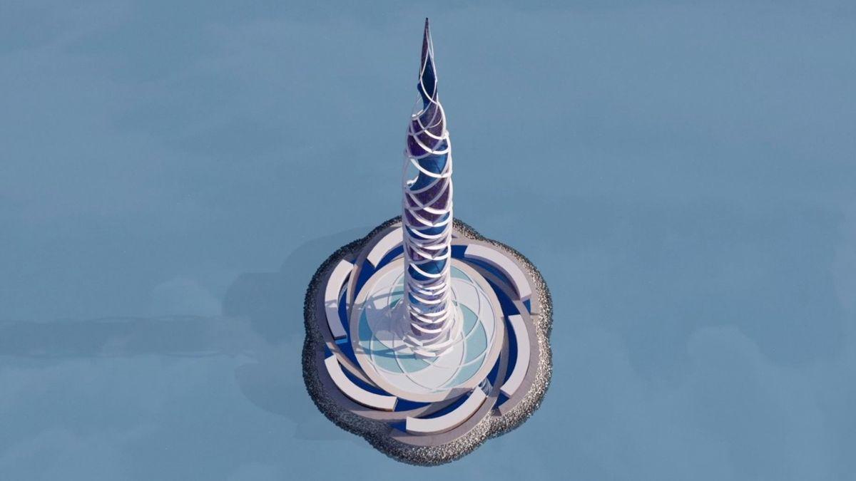 Fotky: Rusko postaví druhý nejvyšší mrakodrap světa. Je poctou energii