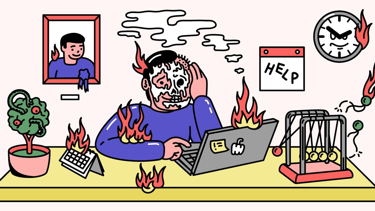 Pod čarou: Vyhořeli jste? Zahoďte sítě a zkuste chvíli nedělat nic
