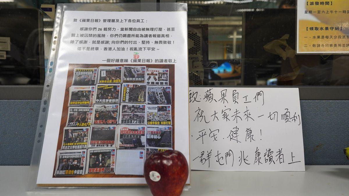 Hongkongský zákon vpraxi. Lidem hrozí doživotní tresty, končí média