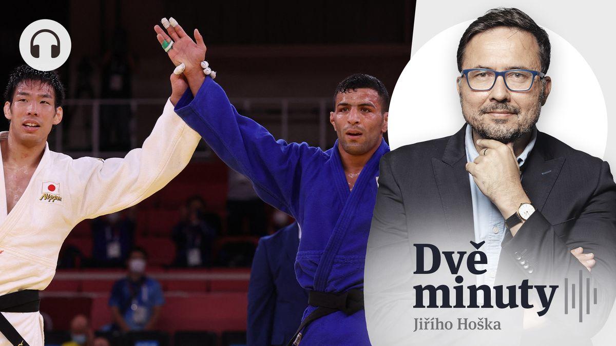 Glosa: Triumf lidskosti. Když Íránec věnuje olympijskou medaili Izraeli