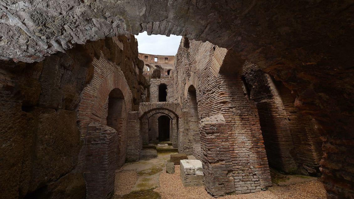 Očima gladiátorů. Podzemí Kolosea se poprvé otevřelo veřejnosti