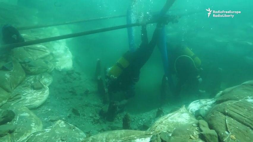 Převratný objev na dně Černého moře. Památky starší než pyramidy