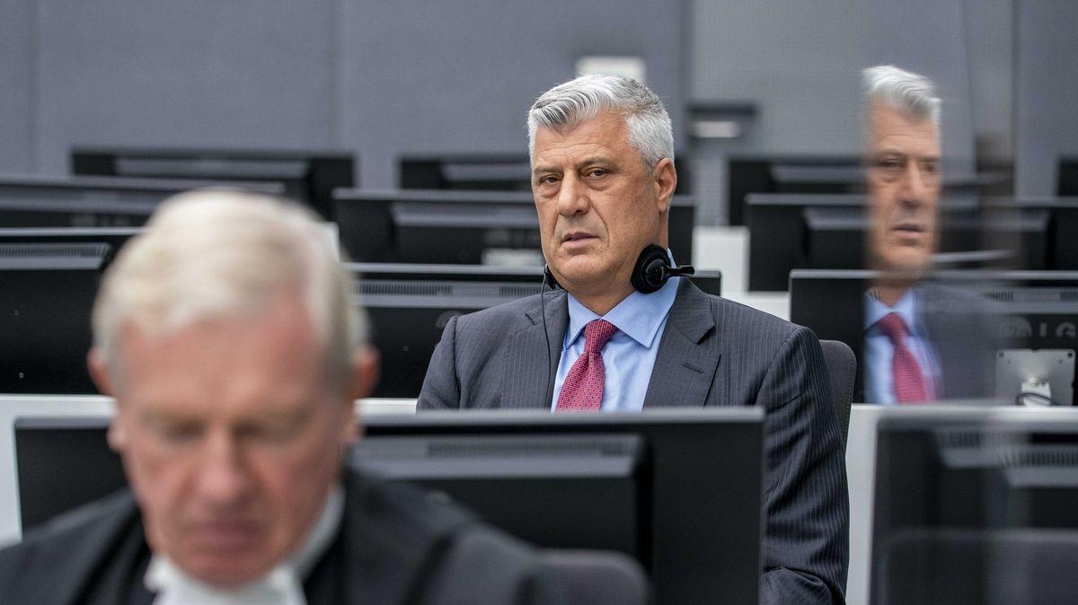 Obžaloba je nepodložená, cítím se nevinný, řekl vHaagu kosovský exprezident