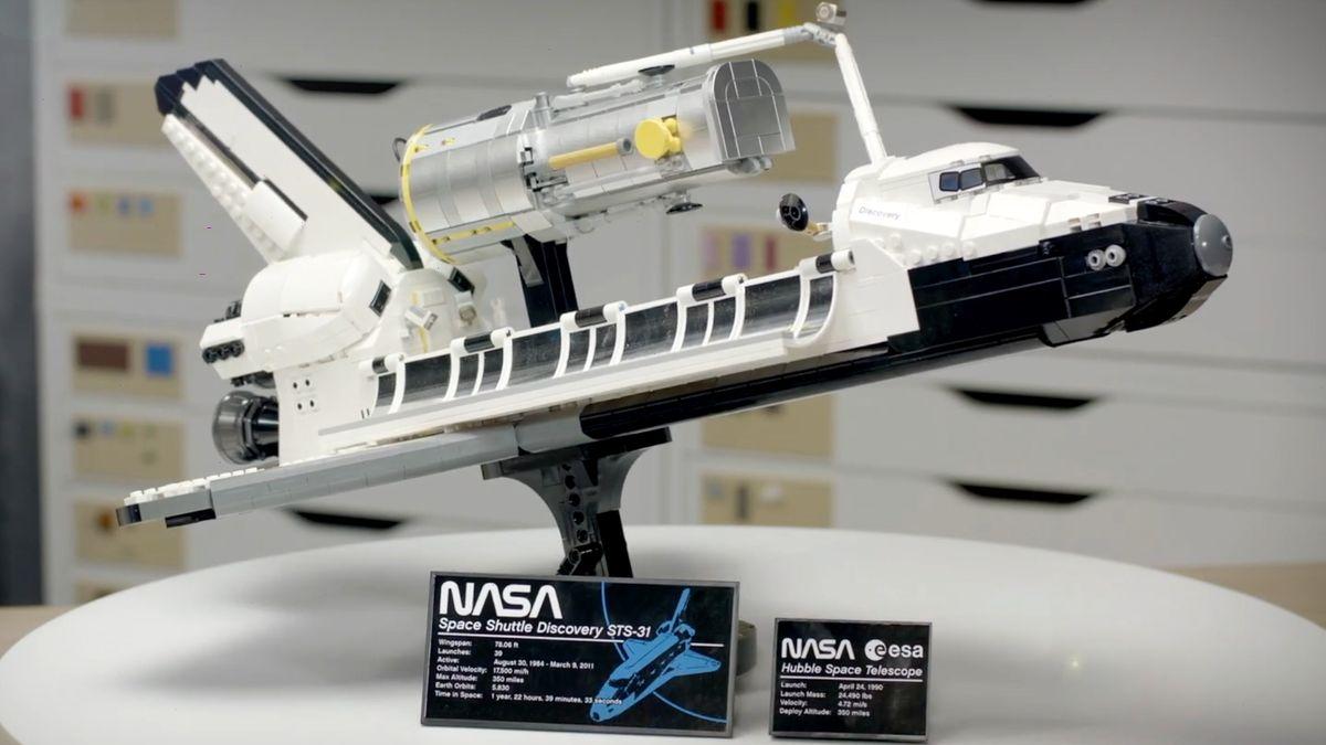 NASA a Lego daly hlavy dohromady. Od dubna prodávají raketoplán