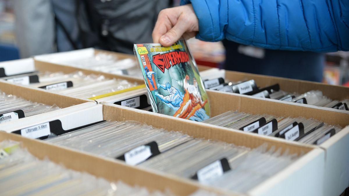 """""""Skutečná podívaná."""" První komiks se Supermanem se prodal za rekordní částku"""