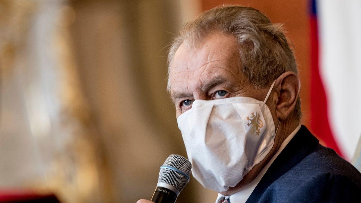 Nástupce Pavla Zemana má dosadit ještě tato vláda, míní prezident