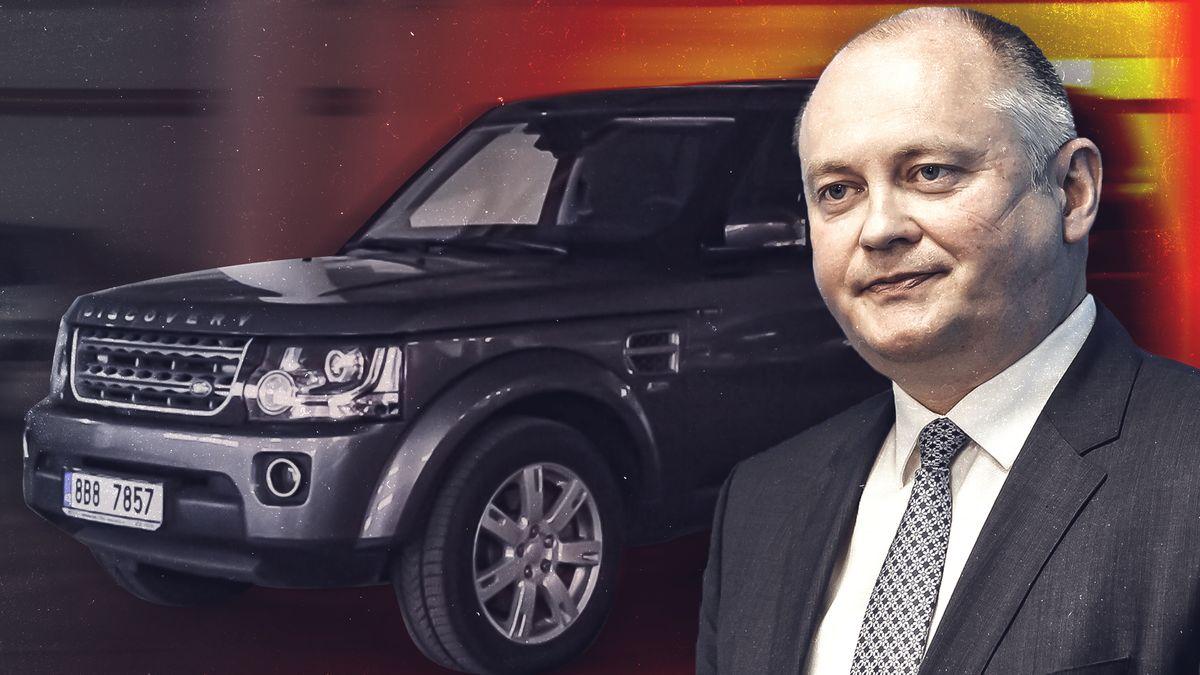 Záchrance zmizel nový Land Rover. Jezdil vněm hejtman Hašek