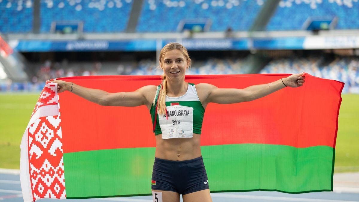 Drama kolem běloruské atletky. Česko jí nabízí vstup na své území