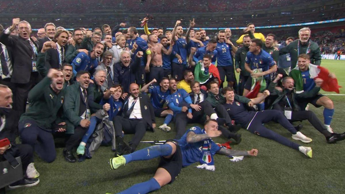 Mistrem Evropy je Itálie. Góly dávali jen obránci, finále rozhodly až penalty