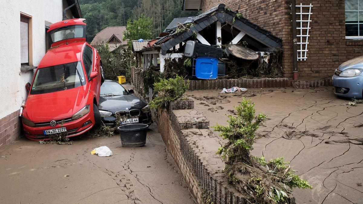 Záplavy vEvropě zabily víc než 180lidí, mrtvých bude dál přibývat