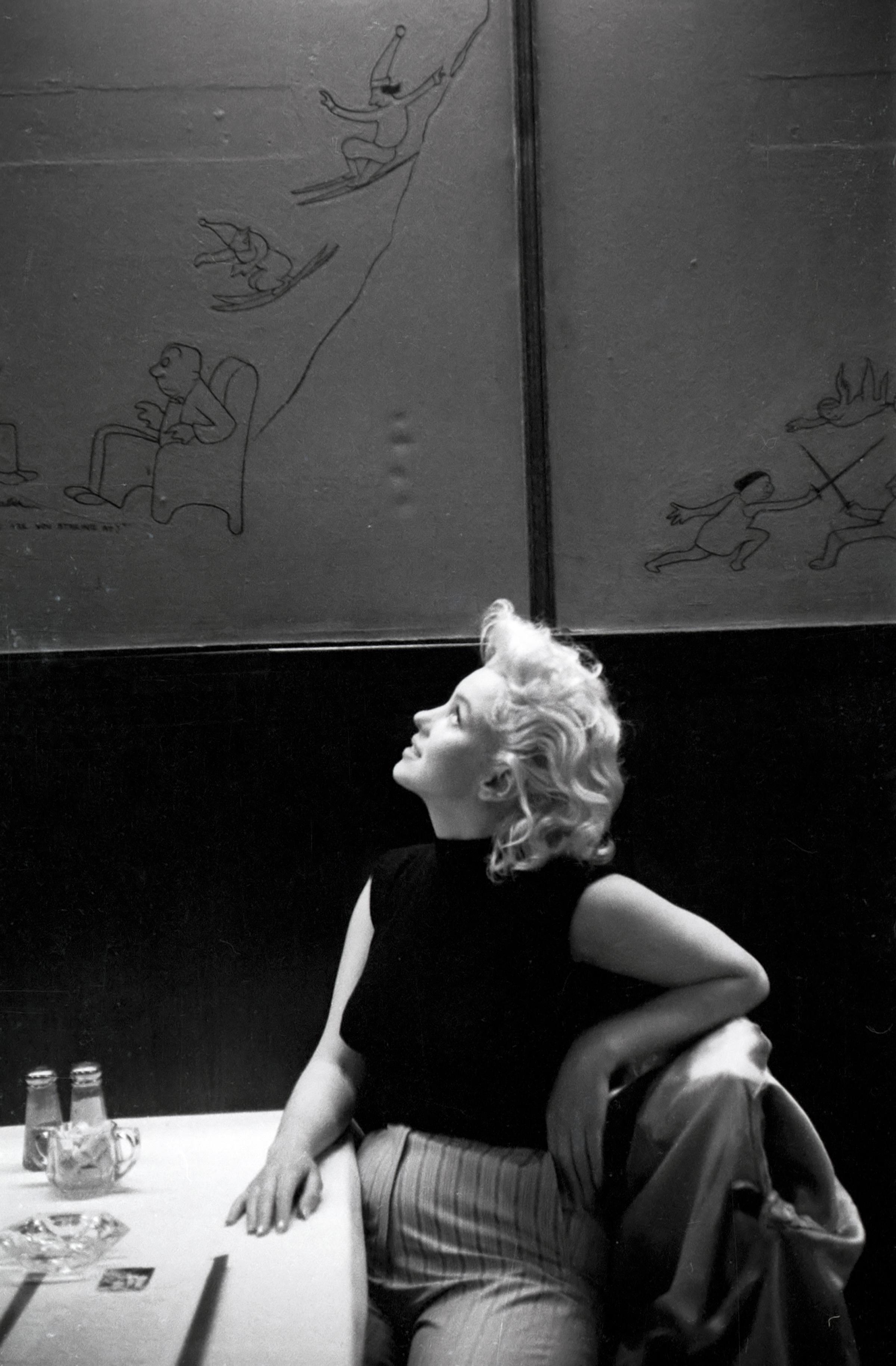 Právě tyto unikátní fotografie Marilyn Monroe přinesly Feingershovi největší slávu.