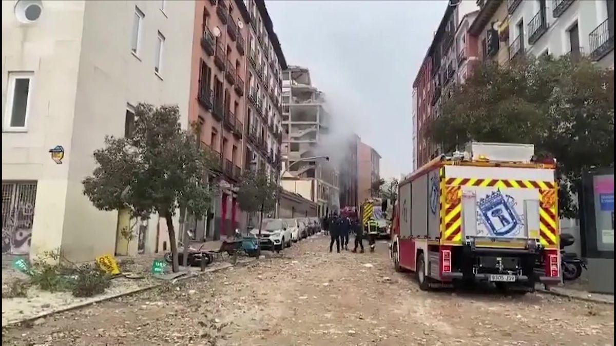 Video: Madridem otřásl výbuch plynu, nejméně dva lidé zahynuli