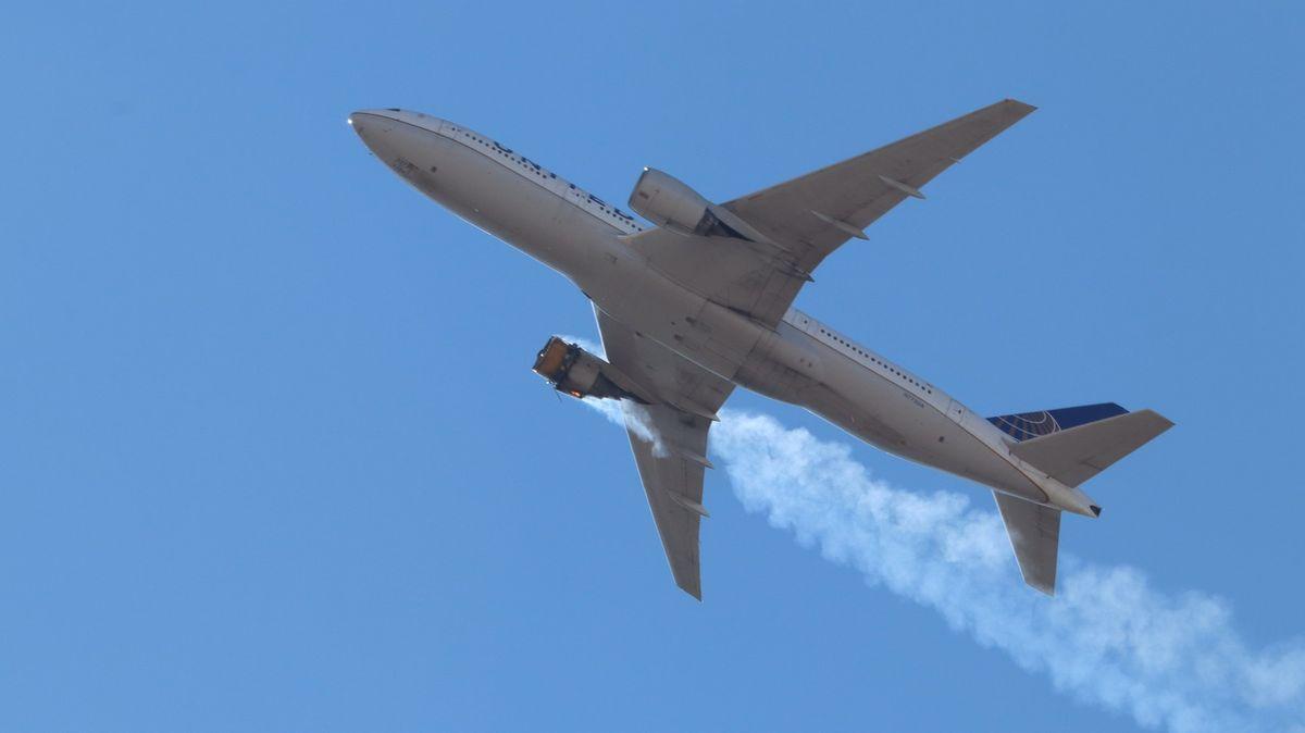 Poruchové Boeingy 777přezkoumá po sobotním incidentu americký úřad