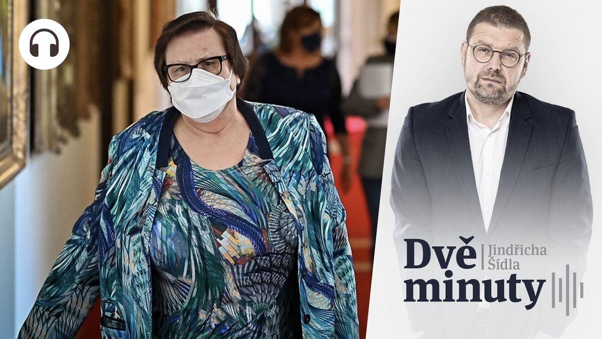 Glosa: Co by měla Marie Benešová vysvětlit prezidentovi