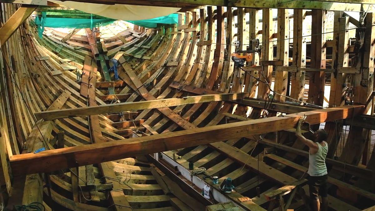 Novodobá Noemova archa chce spasit lodní přepravu od emisí