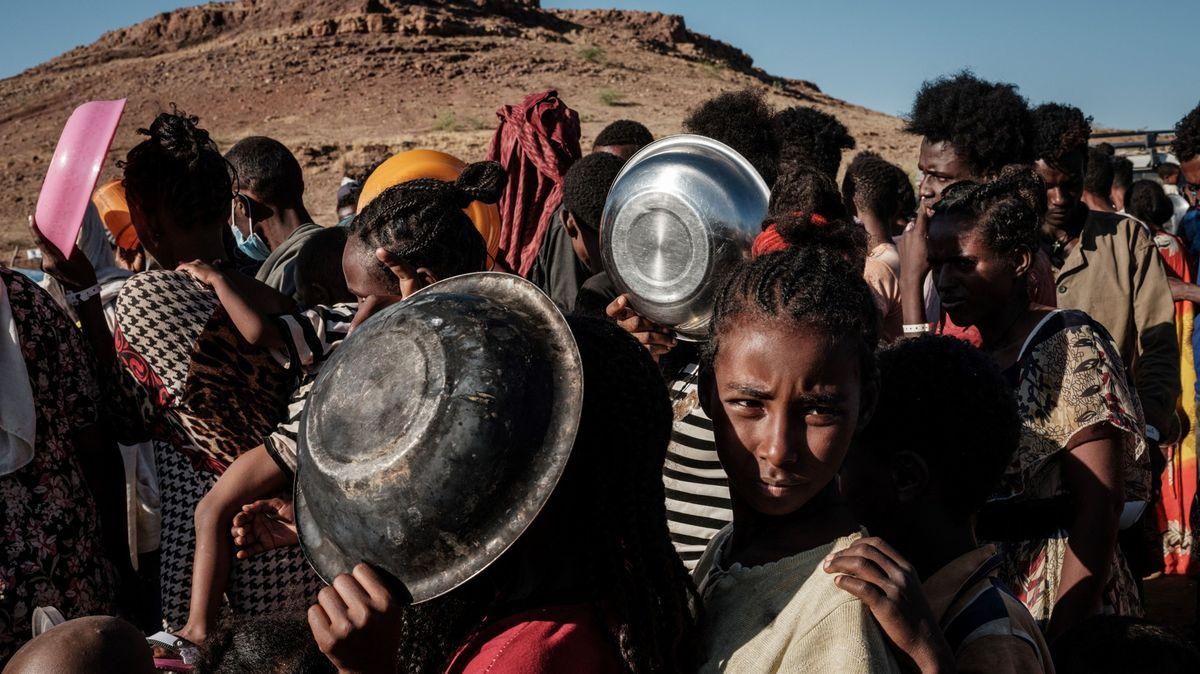 33000dětí vTigraji hrozí smrt hladem