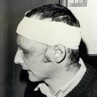 čtk: Niki Lauda / S první manželkou Marlene Knaus v Monze na Velké ceně Itálie. Od havárie na Nürburgringu, při níž utrpěl vážné popáleniny, uplynulo šest týdnů. Snímek ze 13. září 1976.
