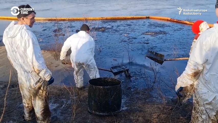 Do ruské přírody unikly tisíce tun ropy, firma dostala směšnou pokutu