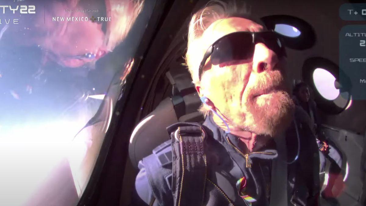 Zpřístupním vesmír vám všem, jásal nadšený Branson. Připravte si 5milionů