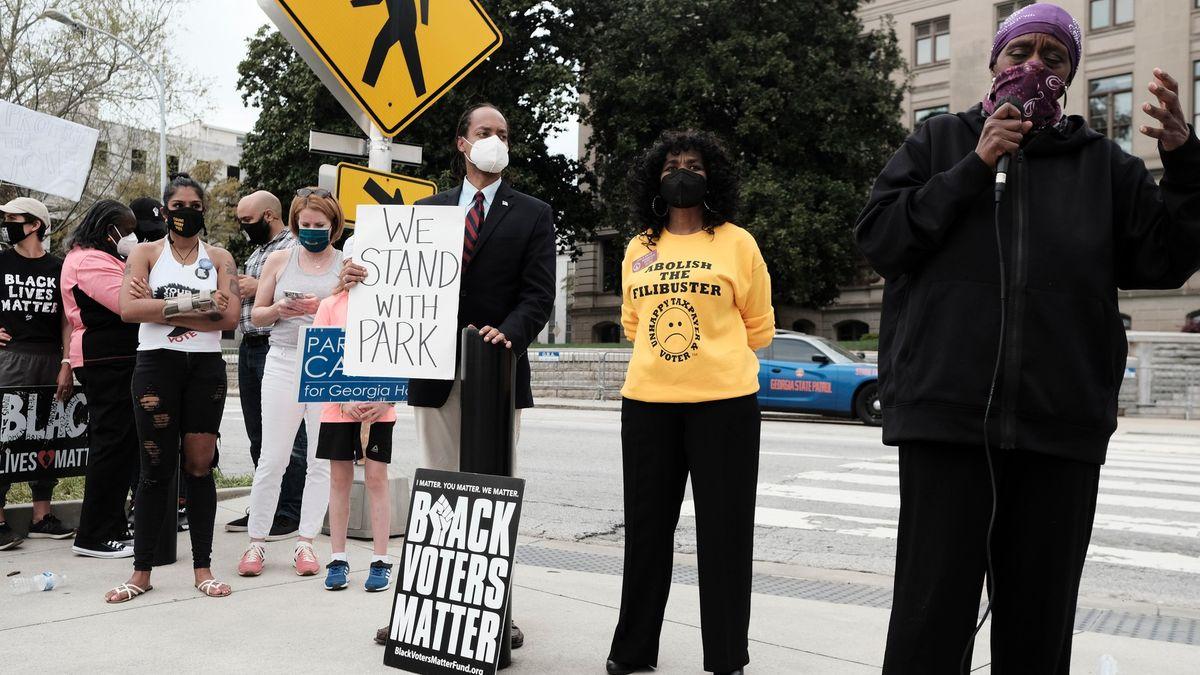Zákony Jima Crowa, zkritizoval Biden nový volební zákon vGeorgii