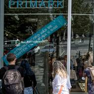 SZ / obchod s módou Primark na Václavském náměstí