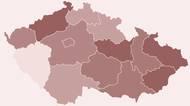 Česko vtrasování selhává, jeden kraj zcelapropadl