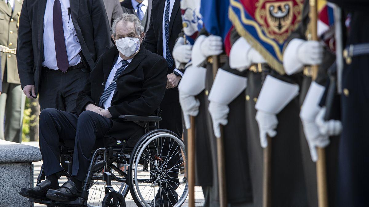 Prezident Miloš Zeman udělil milost nemocnému muži