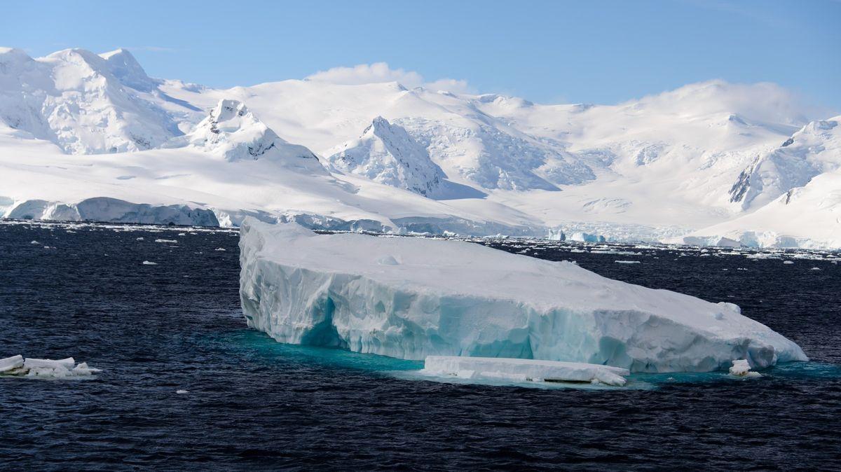 VAntarktidě padl teplotní rekord. Rtuť teploměru vystoupala na 18stupňů