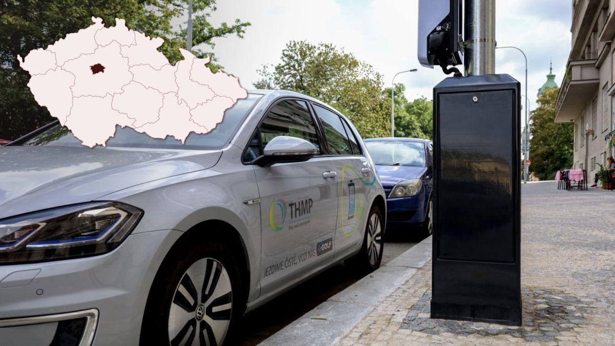 Praha dá do lamp snabíječkami elektromobilů až 880milionů korun