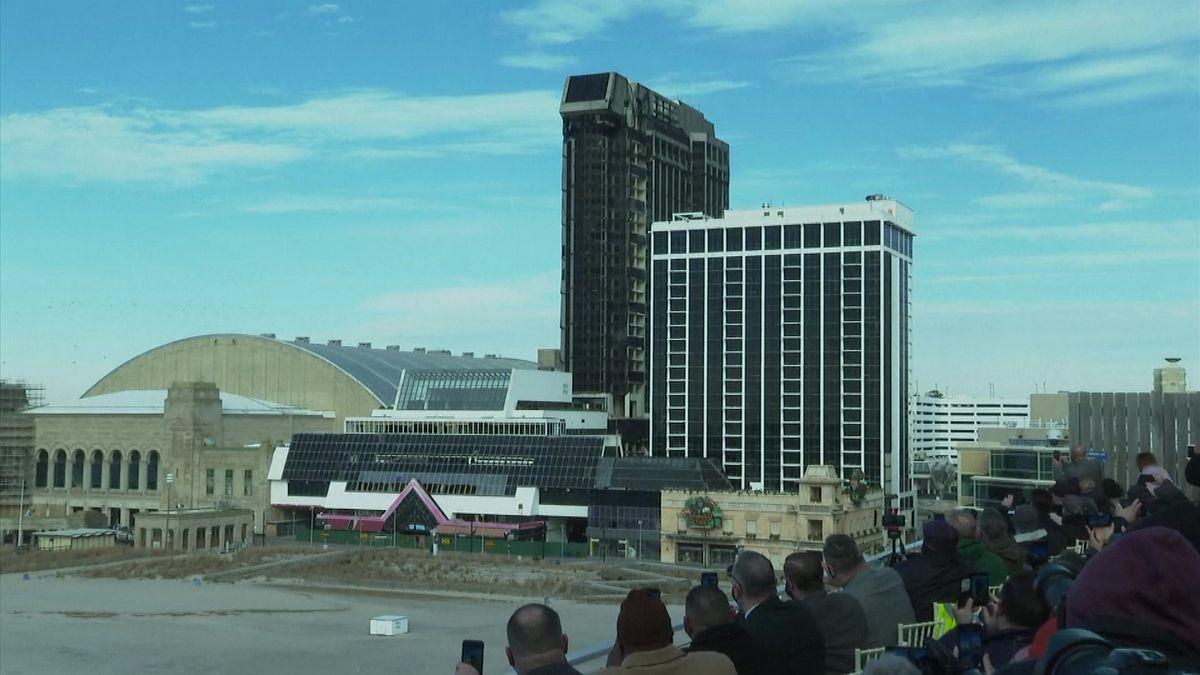 Video: Byla to chlouba impéria. Trumpovo kasino vAtlantic City šlo kzemi