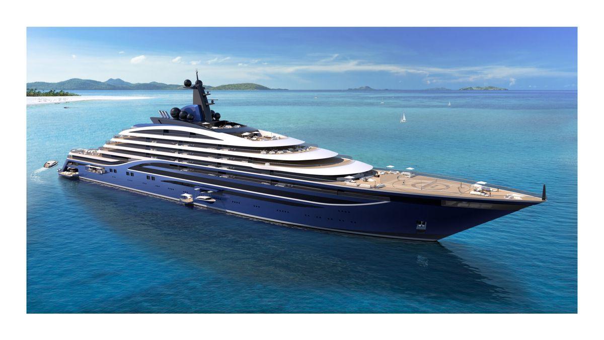 Největší jachta prodává apartmány na palubě. Vyjdou na miliony eur