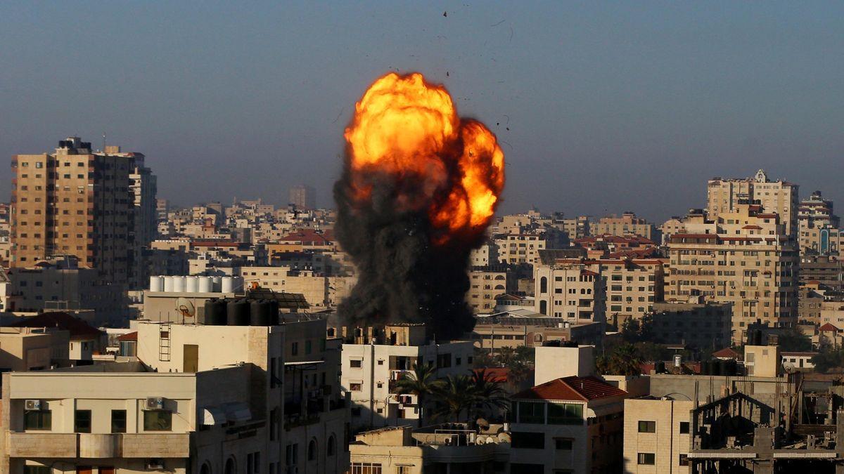 Izraelský nálet zlikvidoval výškovou budovu, kde měla kanceláře iagentura AP