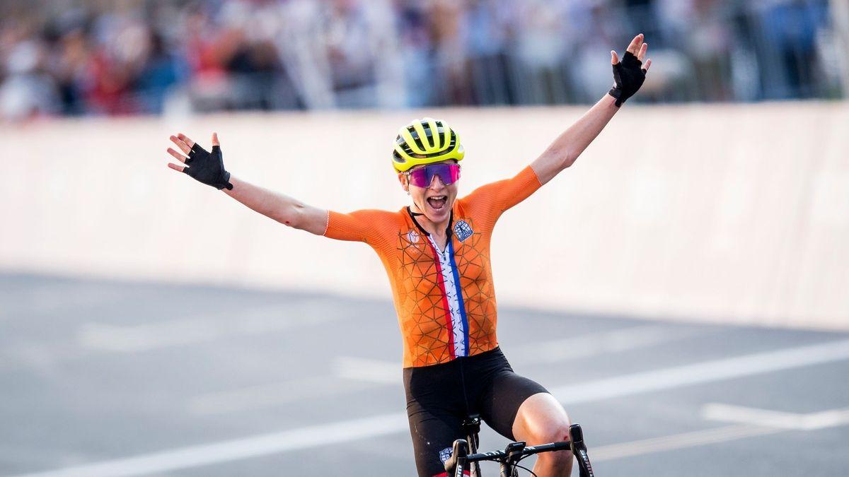 Hořký úspěch Nizozemska. Cyklistka věřila, že dosáhla na olympijské zlato