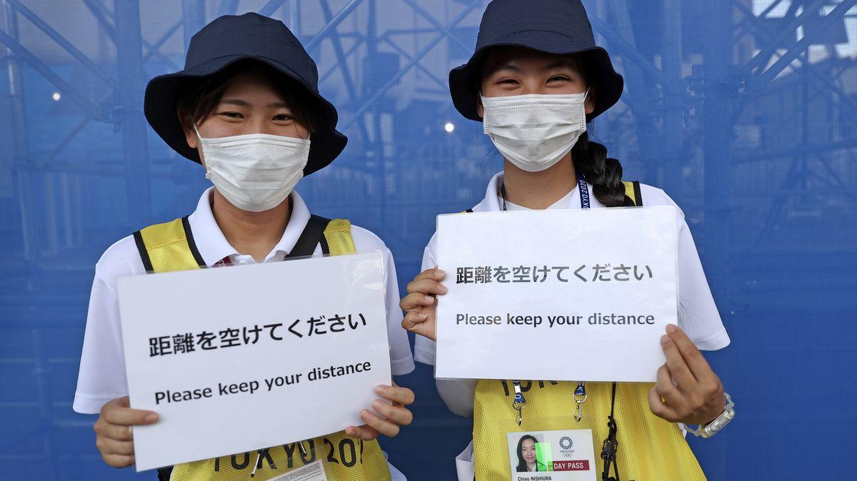 Online zTokia: Tajfun se olympijskému Tokiu nakonec vyhnul