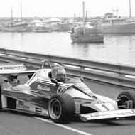 čtk: Niki Lauda / Niki Lauda na okruhu krátce před Velkou cenou Monaka, květen 1976.