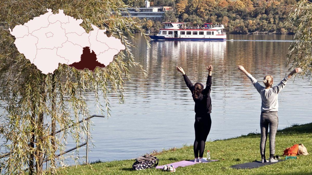 Brněnskou přehradu zaplavily oslunečné neděli davy návštěvníků