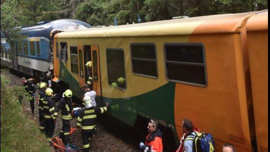 Po zraněných pátrali vlesích. Jednou zobětí srážky dvou vlaků byl Němec