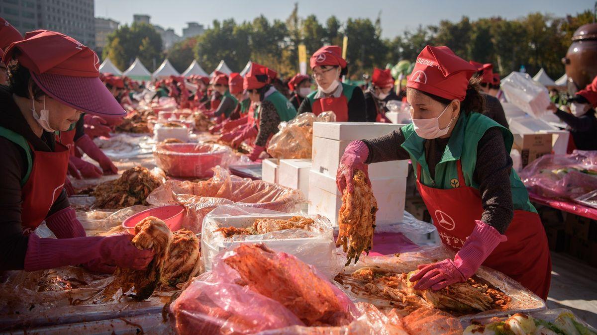 Národní pokrm vohrožení. Korejci bijí na poplach kvůli zelí