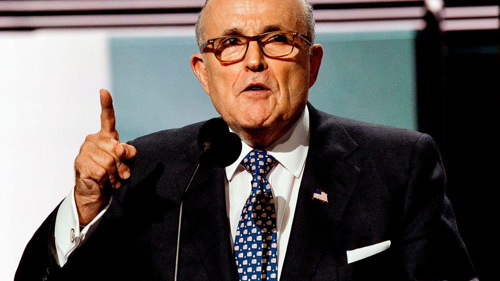 Giuliani nemůže být právníkem vNew Yorku, lhal oTrumpovi