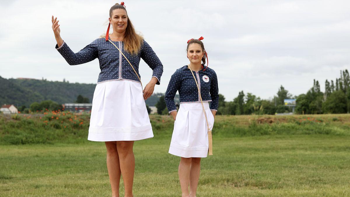 Vtomhle oblečení pojedou Češi do Tokia. Jak se vám líbí?