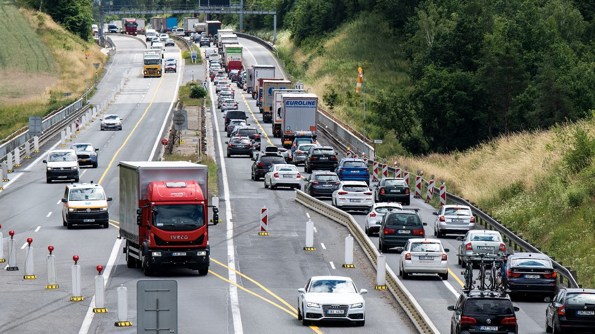 Zfušovaná část dálnice D1 se bude kvůli špatnému betonu znovu opravovat