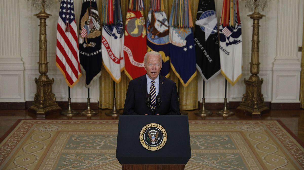 Americká vojenská mise vAfghánistánu skončí 31.srpna, oznámil Biden