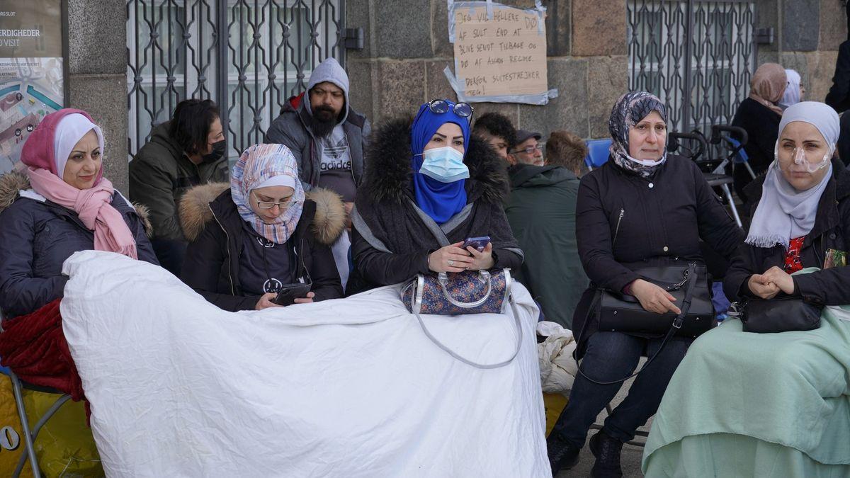 Necítím nic než strach, říká syrská dívka, kterou chce Kodaň poslat zpátky