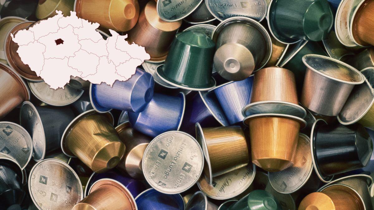 Po papíru nebo lahvích začne Praha recyklovat ihliníkové kávové kapsle