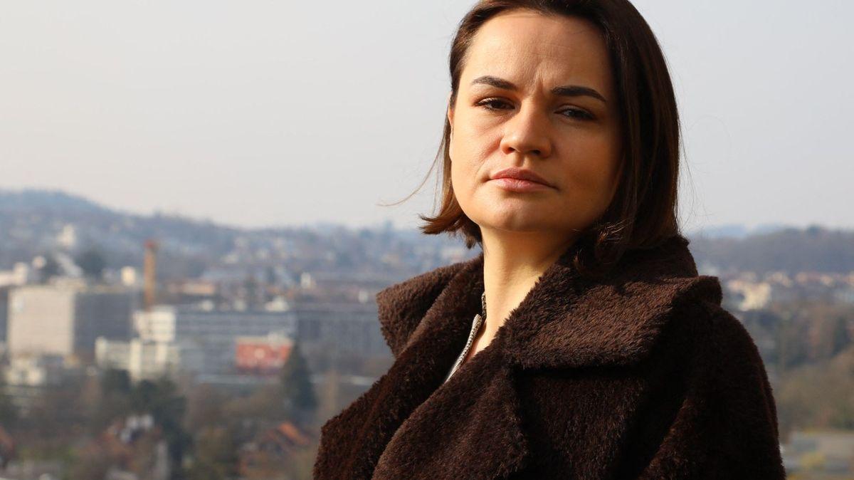 Násilí a mučení vBělorusku připomíná okupaci, říká mluvčí Cichanouské