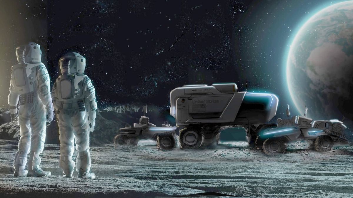 Měsíční rover nové generace. Buginu do kosmu pro NASA vyvíjí General Motors