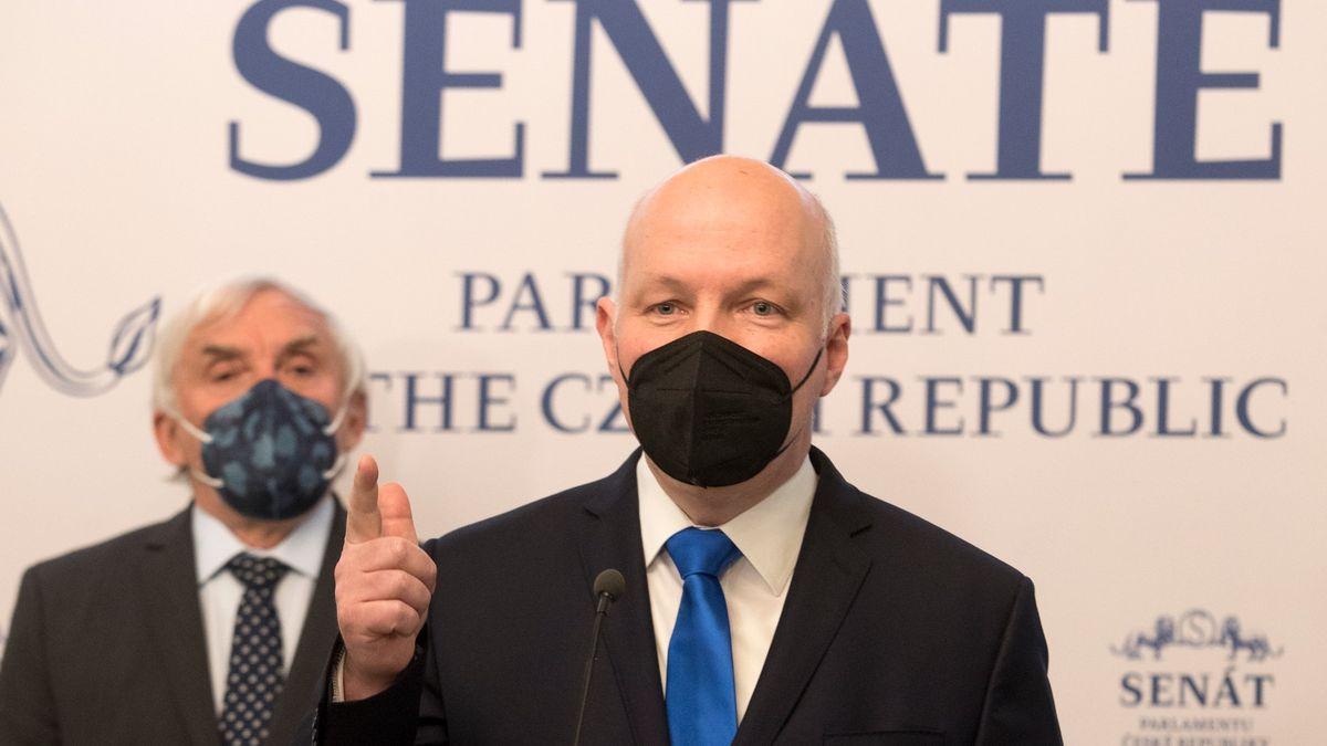 Hamáček se podílí na destrukci ústavního pořádku, říká senátor Fischer