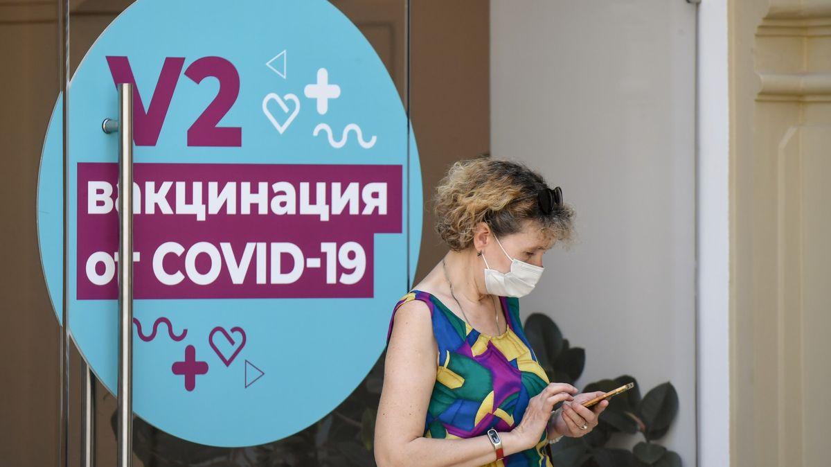 Rusko láme rekordy. 146milionová země čelí třetí vlně koronaviru